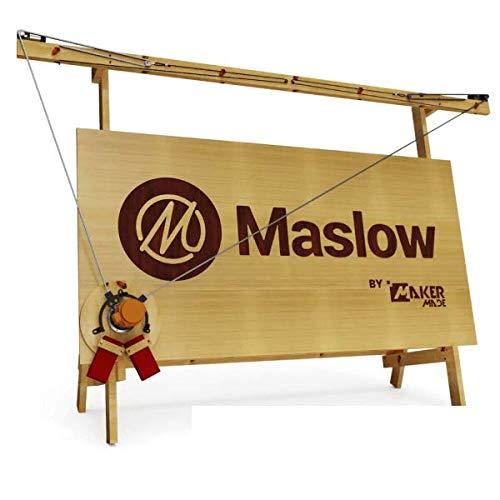 MASLOW CNC-Starthilfe-Set von Maker Made – inklusive kompletter Z-Achsensteuerung, Oberfräsen-Bit und vorgefertigtem Schlitten