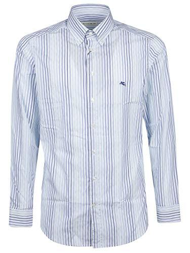 Etro Luxury Fashion Herren 1K9646109250 Hellblau Hemd | Frühling Sommer 19