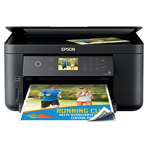 Epson Expression Home XP-5099 Wireless All-in-One Color Inkjet Printer - Print Scan Copy - 14 ppm, 4800 x 1200 dpi, Auto 2-Sided Borderless Printing, 150-Sheet, Card Slot