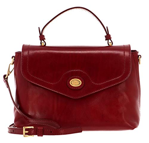 The Bridge Story Donna Top Handle Bag Rosso Ribes