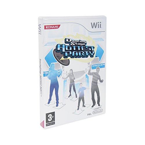 Dancing Stage Hottest Party für Wii Tanzmatten-Spiel