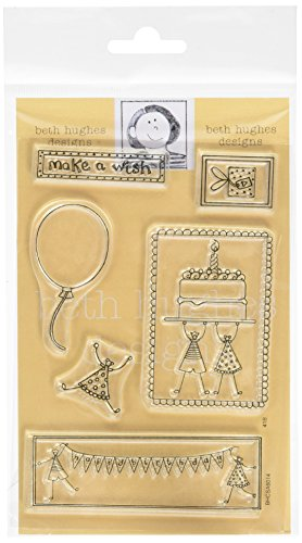 Art Stamps A6 Beth Hughes Little People Make a Wish Sello