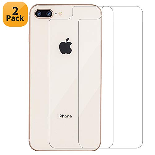 Maxdara iPhone 8 Plus Screen Protector, iPhone 8 Plus Back Tempered Glass Screen Protector Ultra-Thin Touch Accurate Anti Scratches Screen Protector for iPhone 8 Plus 5.5 inches (2 Pack)