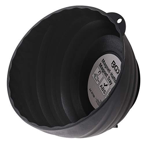 BGS 67100 | Magnet-Haftschale | extra hoher Rand | Ø 145 mm | Magnet-Schale, -Teller, -Ablage | Haftschale | magnetische Schraubenschale