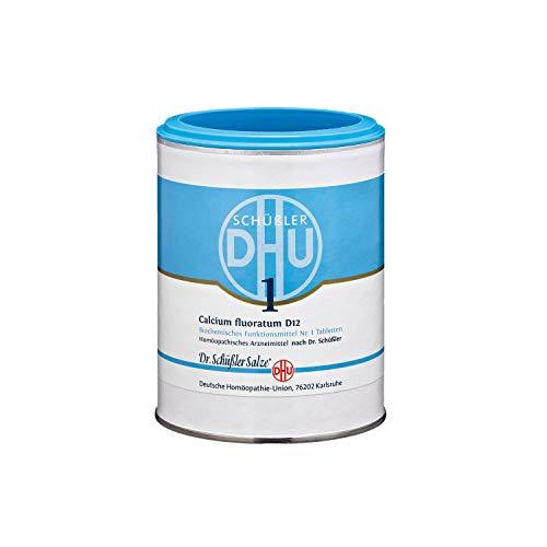 DHU Schüßler-Salz Nr. 1 Calcium fluoratum D12 Tabletten, 1000 St. Tabletten