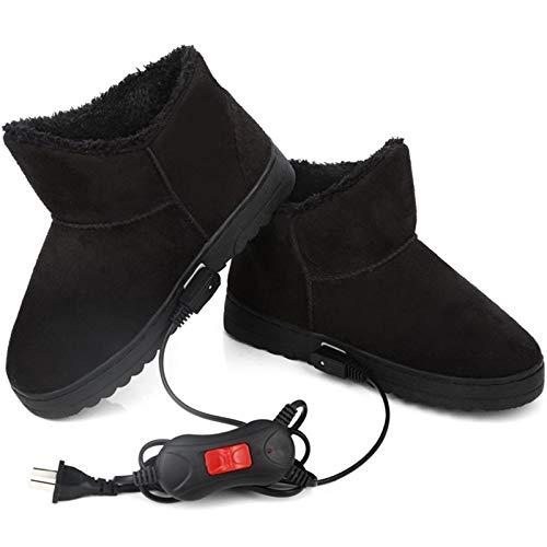 ZRSH Zapatos con Calefacción Eléctrica USB, Botas con Calefacción, Calentador de Pies...