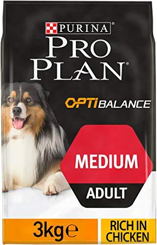 Purina ProPlan Medium Balance Hundefutter Adult Huhn 4 x 3 kg