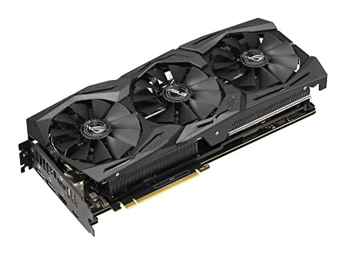 ASUS ROG STRIX NVIDIA GeForce RTX 2070 OC 8G Gaming Grafikkarte (PCIe 3.0, 8GB DDR6 Speicher, HDMI, Displayport, USB Type-C)