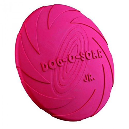 Trixie Dog Disc Naturgummi-Frisbee, schwimmend - 24 cm, diverse Farben