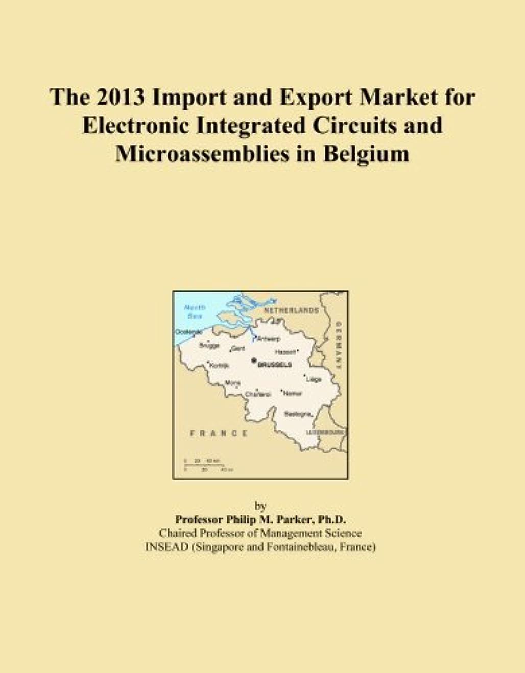 最少大学院群がるThe 2013 Import and Export Market for Electronic Integrated Circuits and Microassemblies in Belgium