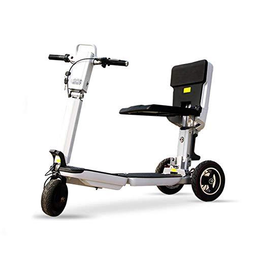 Faltbarer Elektrischer Roller Adult Scooter, Beweglicher Rollstuhl, 350W, Maximallast 150Kg
