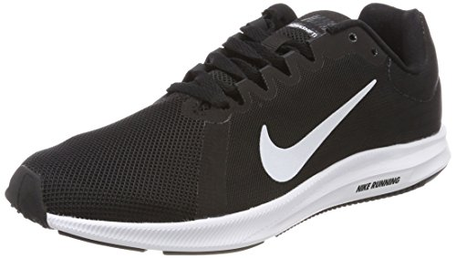 Nike Wmns Downshifter 8, Scarpe Running Donna, Nero (Black/White-Anthracite 001), 36.5 EU
