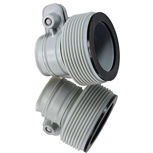 Intex Hose Adapter Conversion Kit for 1500 2500 Filter Pumps 25009 10722