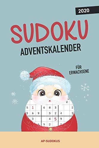 Sudoku Adventskalender für Erwachsene: über 70 Sudoku Rätsel für eine besinnliche Adventszeit I Jeden Tag neue Sudokus