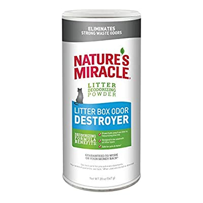 Nature's Miracle Just for Cats Odor Destroyer Litter Powder, 20 oz