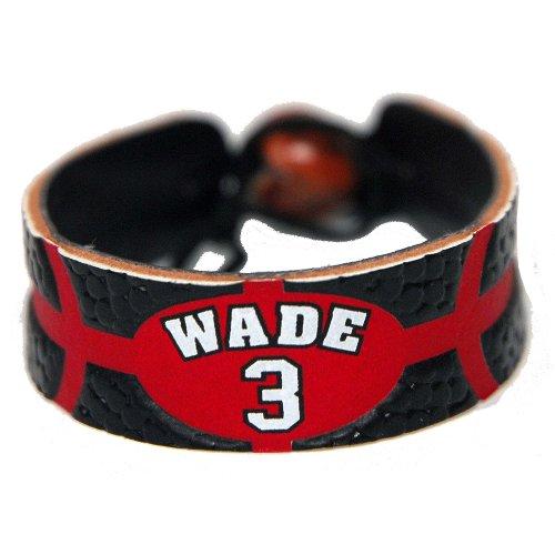 Dwayne Wade Team Color NBA Jersey Bracelet