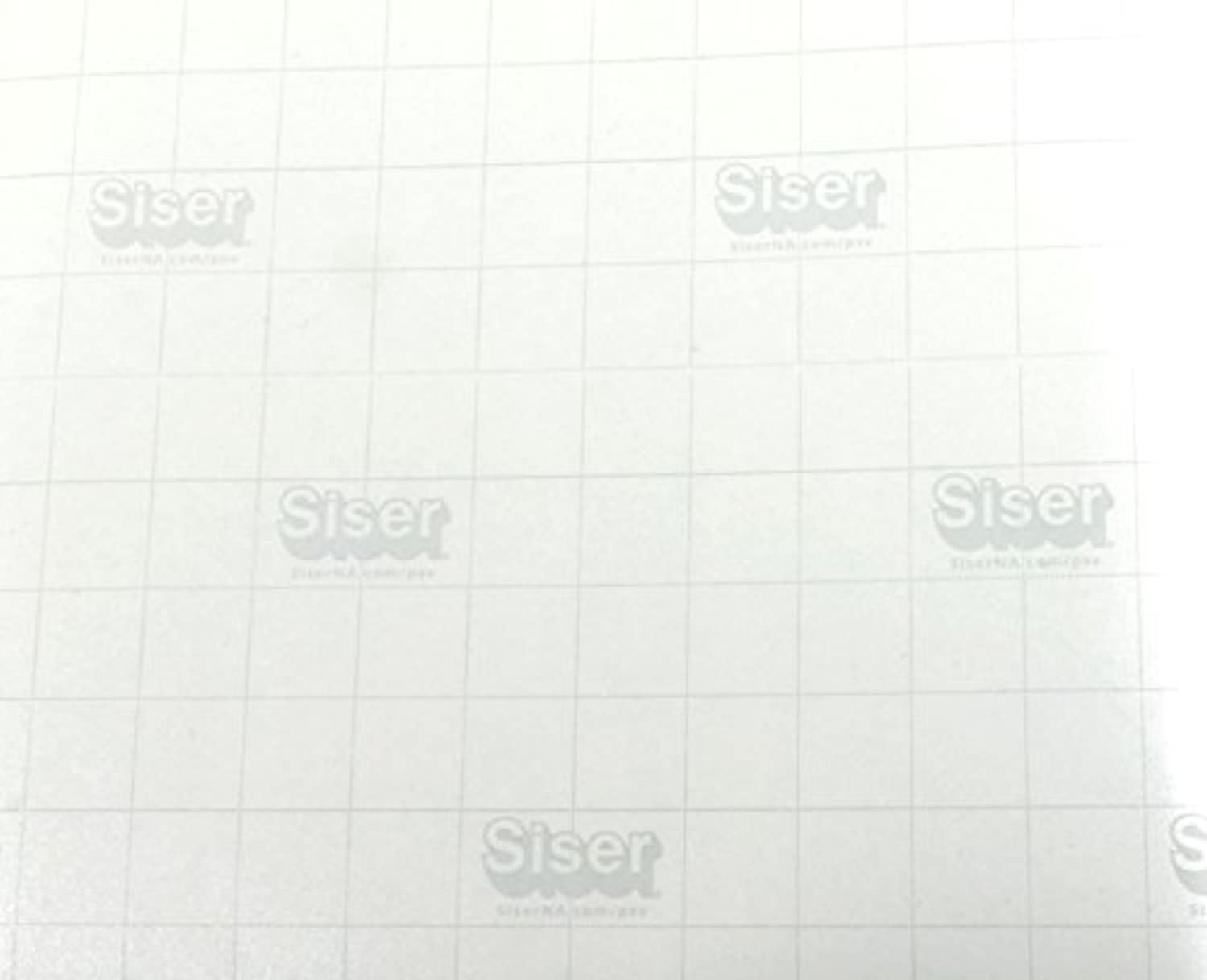 Siser EasyPSV Transfer Tape Paper Clear with Grid for Self Adhesive Craft Vinyl (12