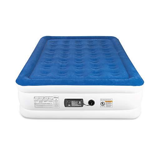 SoundAsleep Dream Series Air Mattress with ComfortCoil Technology & Internal High Capacity Pump - Full
