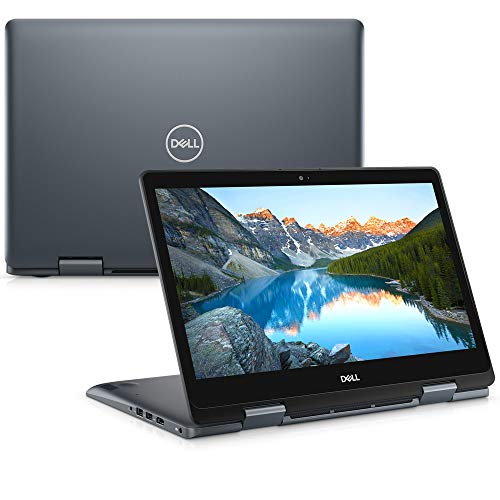 "Notebook Dell Inspiron 2 em 1 Ultrafino 14 5000, i14-5481-A30S, 8ª Geração Intel Core i7-8565U, 8 GB RAM, HD 1TB, Intel® UHD Graphics 620, Tela 14"" LED Full HD IPS, Windows 10, Prata"