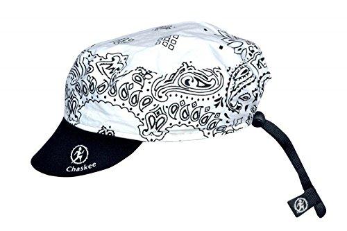 Chaskee omkeerbare cap Cashmere met neopreen schild (omkeerbare muts, UV 80), kleur: wit