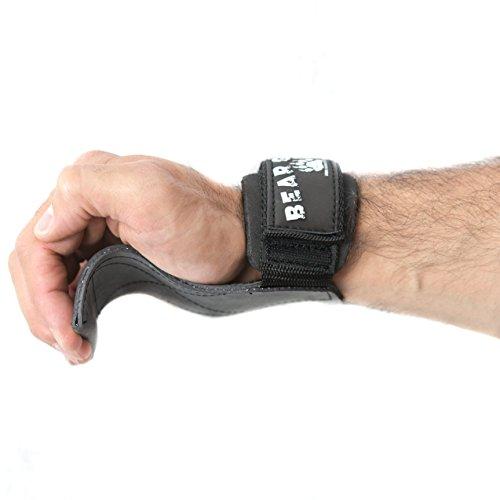 Bär Grip Multi Grip Straps/Haken, Premium Heavy Duty Gewichtheber/Handschuhe