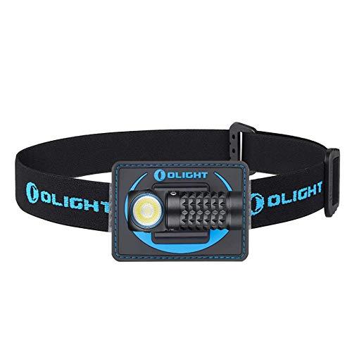 OLIGHT Perun Mini kit LED Taschenlampe Kopflampe mit 1000Lumen,IPX8 wasserdicht wideraufladbar Kleine Stirnlampe für Kinder Outdoor Arbeite Alltag,60° einstellbar und 100m Reichweite