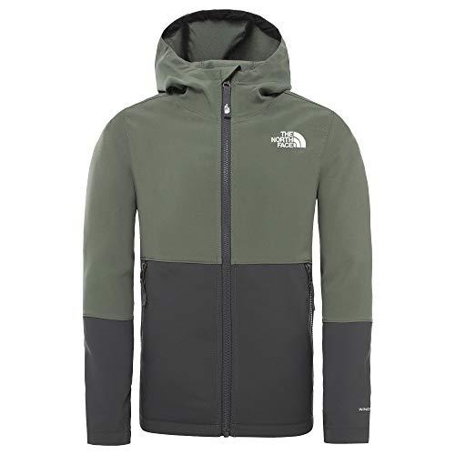 THE NORTH FACE - Boy's Softshell Jacket - Softshelljacke Gr M grau/schwarz