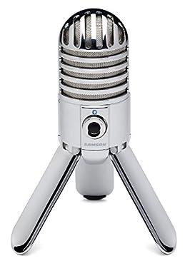Eine der größten Kondensatormembranen (25 mm) aller verfügbaren USB-Mikrofone Das Nierencharakteristikmuster, der gleichmäßige Frequenzgang und die 16-Bit-Auflösung von 44,1 / 48 kHz sorgen für professionelle Audioergebnisse Ein 1/8-Zoll-Stereo-Kopfh...