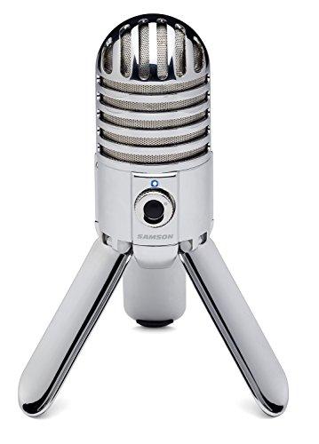 Samson Meteor USB Microphone (Silver)