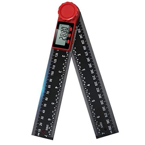 Shangjunol Ajusta el ángulo del Visor electrónico goniómetro Digital de ángulo de...