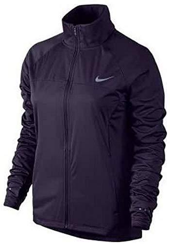 Nike Damen Shield FZ 2.0 Jacket Regenjacke, Purpurrote Dynasty/Reflektives Silber, L