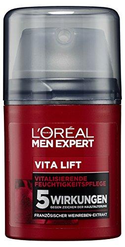 L'Oréal Men Expert Vita Lift Feuchtigkeitspflege, Gesichtscreme mit hochdosierter Anti-Aging...