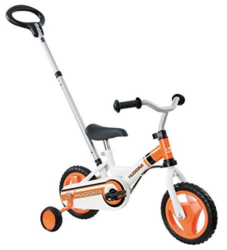 HUDORA Kinder Fahrrad RS-1 3.0, orange/weiß, 25.4, 10505