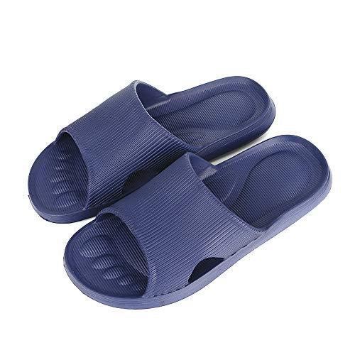 G-TASTE Zapatillas de baño deslizables sólidas para Mujer, Ducha, Zapatillas Junto a la...