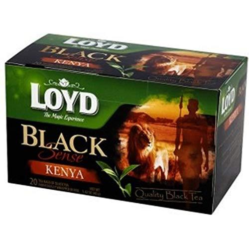 Loyd Schwarzer Tee Black Sense Kenia 20 Teebeutel Schwarztee Tea bags