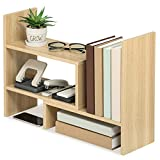 FITUEYES Estantería Organizador de Escritorio DIY Madera Oak Librería Estante...