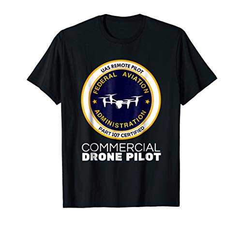FAA Commercial Drone Pilot Tshirt