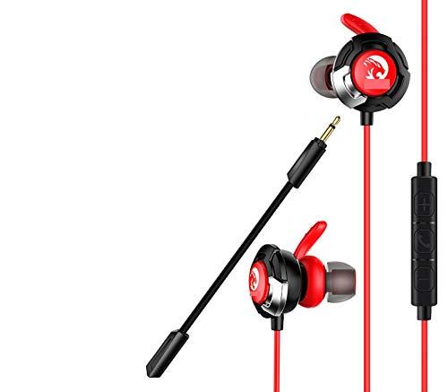 PJIAL isolerende in-ear subwoofer-koptelefoon van metaal, HD-geluidskwaliteit, sporten, hardlopen, K-songs spel outdoors