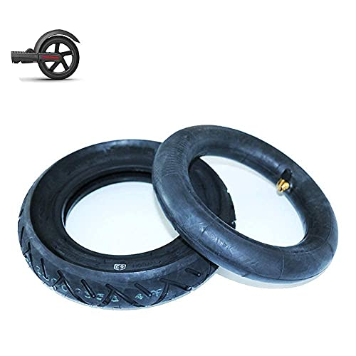 Neumáticos para patinetes eléctricos, neumáticos interiores y exteriores inflables 10X2.5, patines plegables...