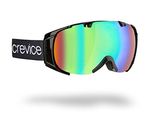 Black Crevice Kinder Skibrille Warh, schwarz, One Size