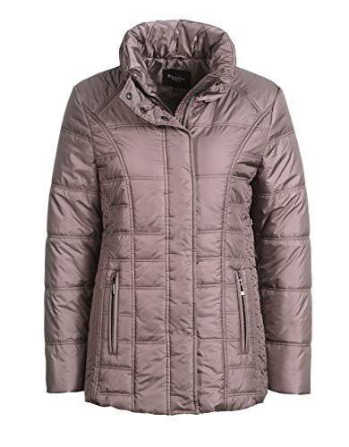 Bexleys Woman by Adler Mode Damen Steppjacke altrosé 54