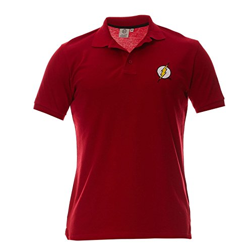 Polo Homme Flash - Logo - Legend Icon - M, Rouge