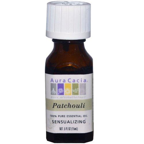 Aura Cacia Pure Essential Oil, Patchouli.5 fl oz (15 ml)