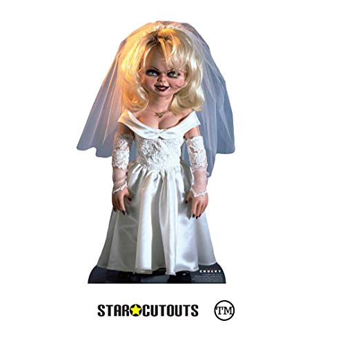 Star Cutouts SC1307 Tiffany Bride of Chucky - Juego para niños, perfecto para Halloween, amigos y fans, multicolor