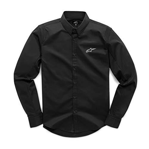 Alpinestars logo Chemise Homme Noir (Ambition Ii Shirt Black), L