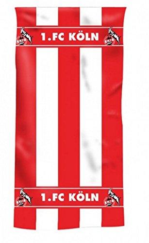 1. FC Köln Duschtuch 'Blockstreifen'