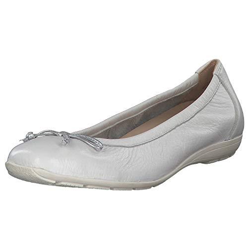 CAPRICE Damen Ballerinas 99 22106 22 130 weiß 603608