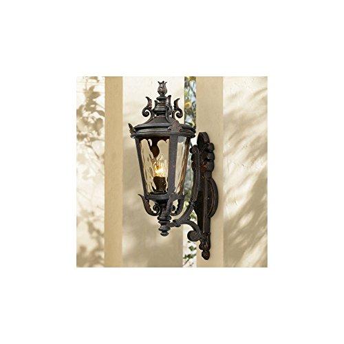 """Casa Marseille 22"""" High Bronze Outdoor Wall Light"""