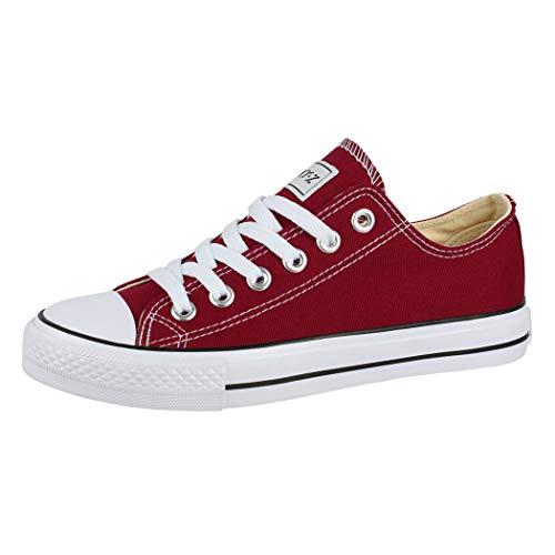 Elara Unisex Sneaker Low top Turnschuh Textil Chunkyrayan 36-46 01-A-BR-40