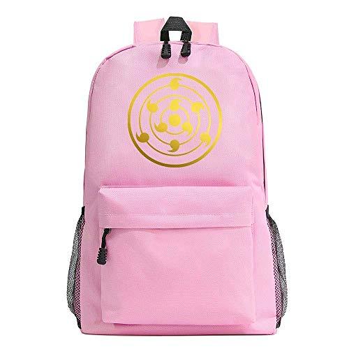 Starry Sky Color Cartoon Anime Backpack Fashion Student Large Capacity Schoolbag Bagpack-A,Colour Name:E qingqiao (Color : A)